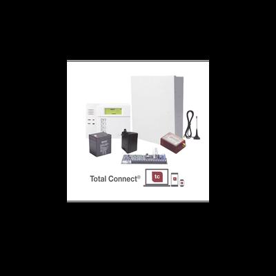 Super Kit de Panel VISTA48LA con Teclado 6150 Transformador y Comunicador MINI014GV2