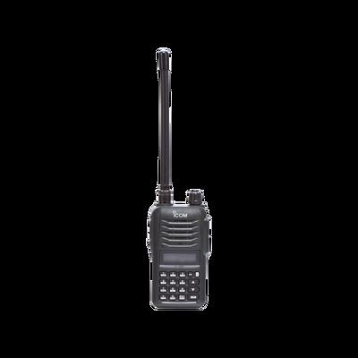 RAD.ICOM 136-174MHZ, 7.0W , 200CH, DTMF, INC. ANT/BAT/CARG.