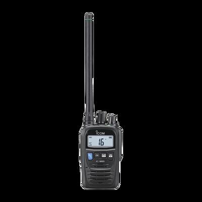 Radio portátil marino y comercial en VHF, incluye los canales USA, INT, CAN, y del clima