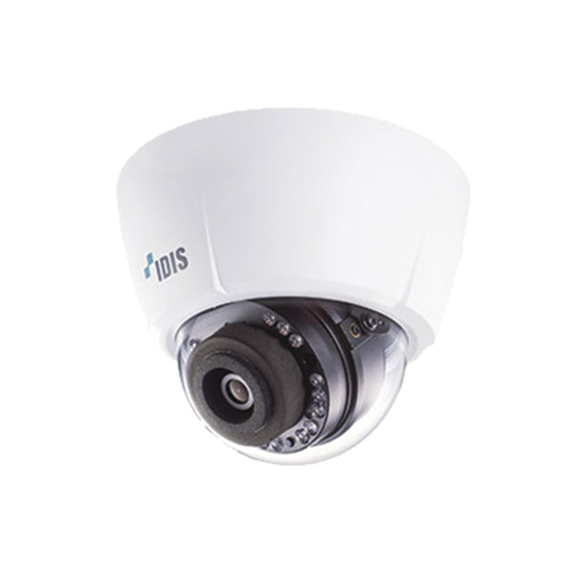 Cámara Domo IP 3 MP | Lente Varifical 3.3 - 10 mm | IR 20 m | PoE | Entrada y Salida de Alarma | Interior | Micro SD