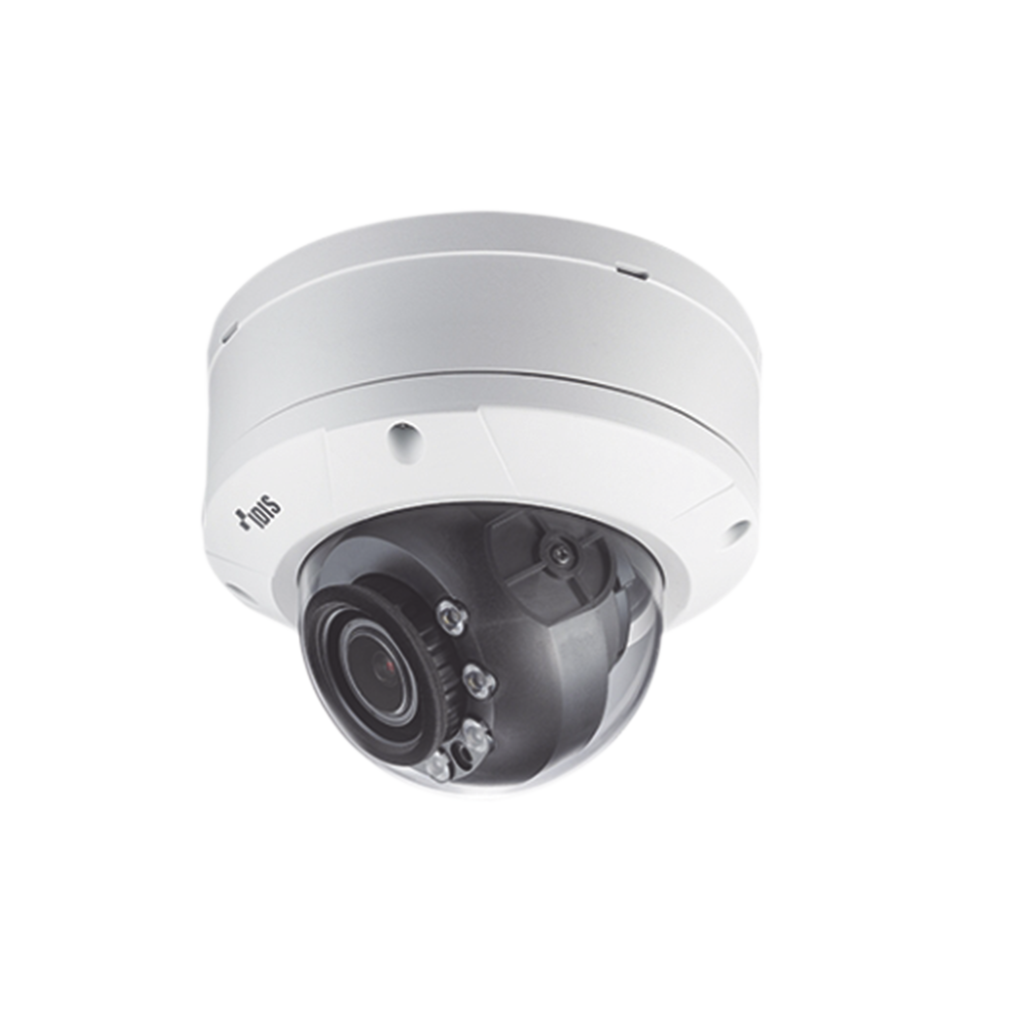 Cámara IP Domo Antivandálico | Calefactor 2MP (H265) | Lente MOTORIZADO Varifocal 2.8-12mm | Exterior | Entrada / Salida de Audio y Alarma | IR 20m | WDR 120dB
