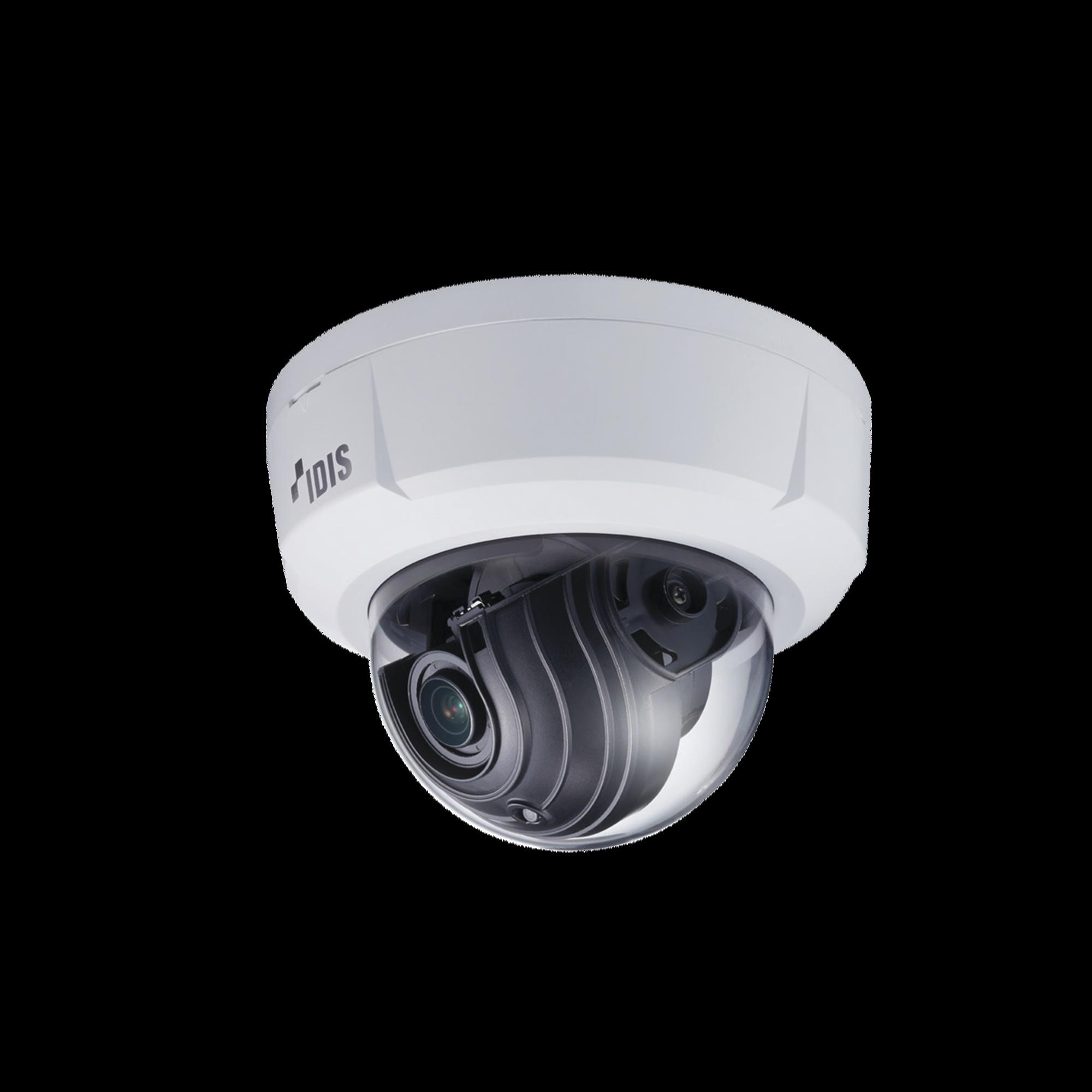 Cámara IP Domo 2MP (H265), Lente MOTORIZADO Varifocal 3.3-10mm, para Interior, Entrada / Salida de Audio y Alarma, WDR 120dB