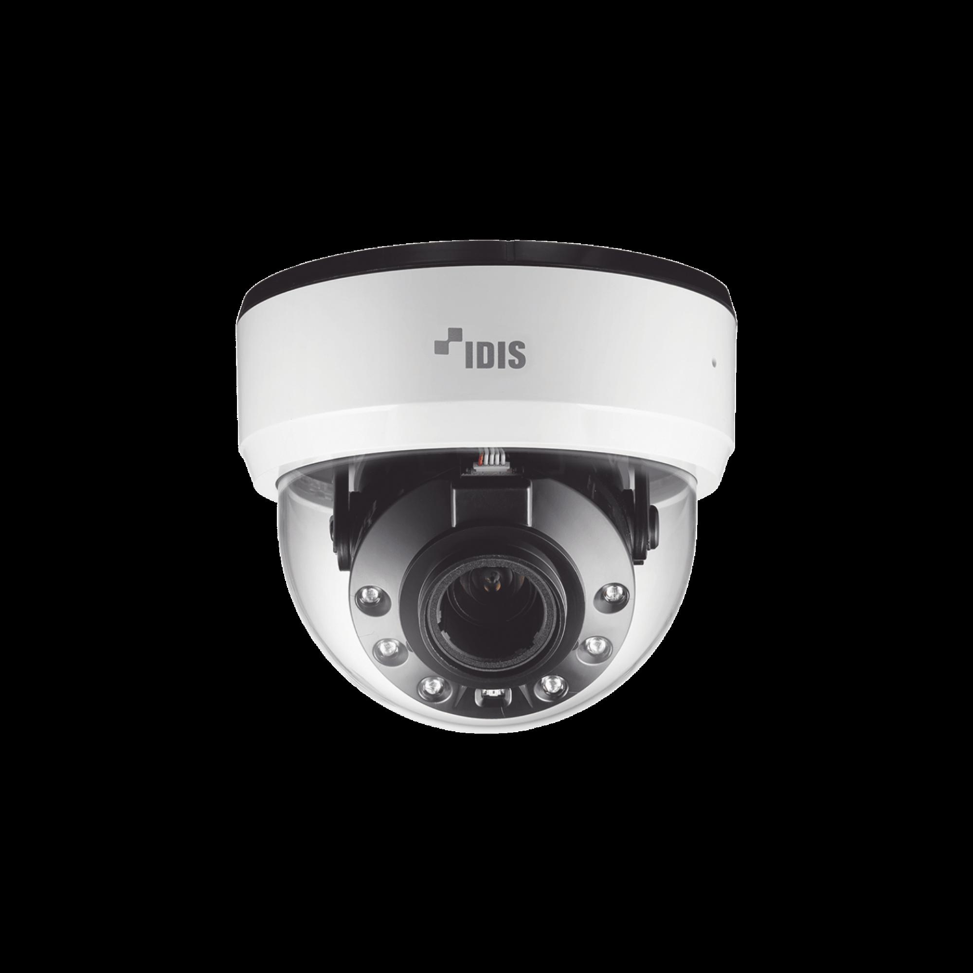Camara 2 megapixeles (1080p) | Varifocal 2.8mm - 12mm | Audio bidireccional | Alarma I/O | PoE | IR 20m | ONVIF | Dia / Noche ICR | MicroSD | CODEC INTELIGENTE