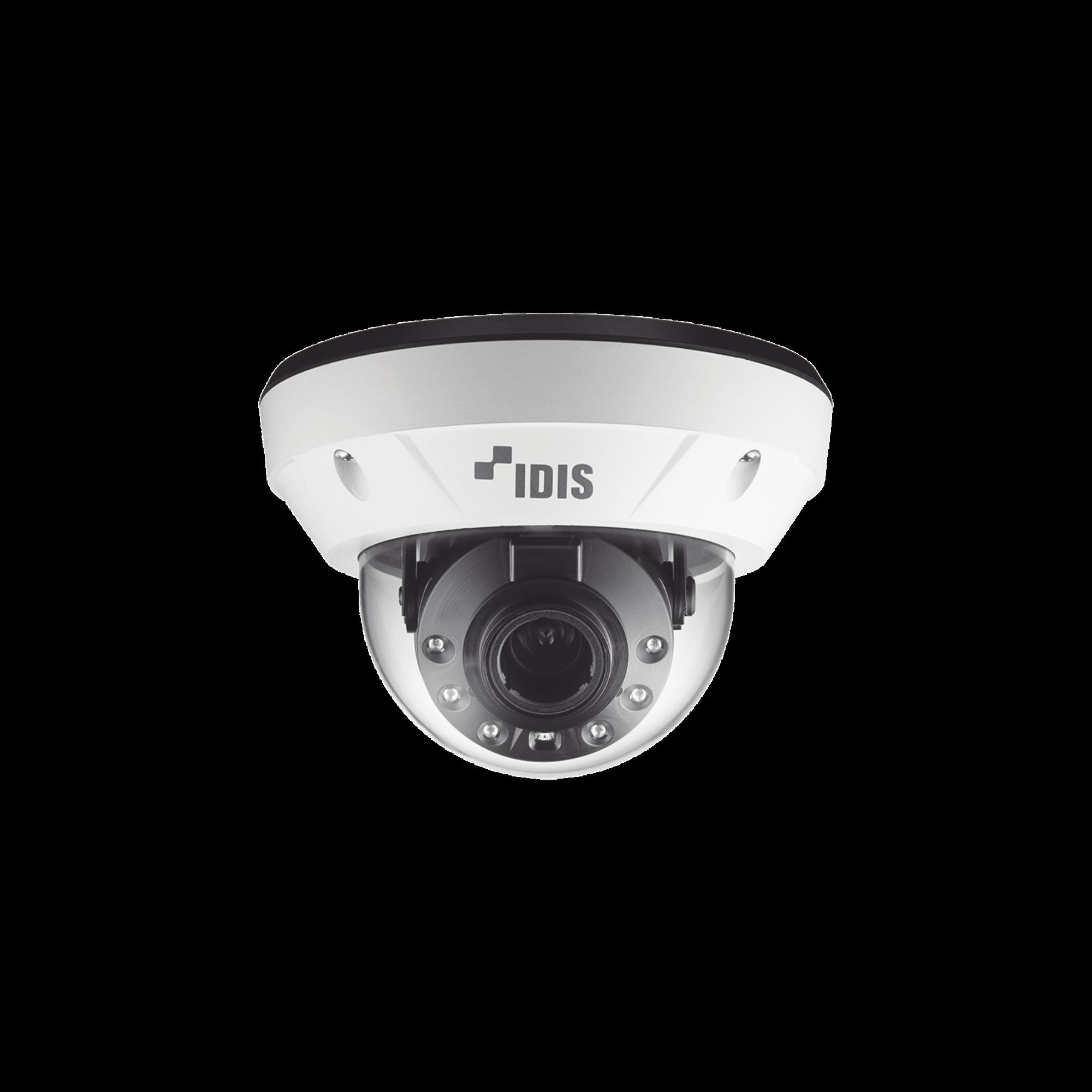Camara IP Domo 2 Megapixel (1080p) | Antivandalica IK10 | Audio de dos vias | Alarma I/O | PoE | IR 30m | ONVIF | Dia/Noche | MicroSD | INTELLIGENT CODEC