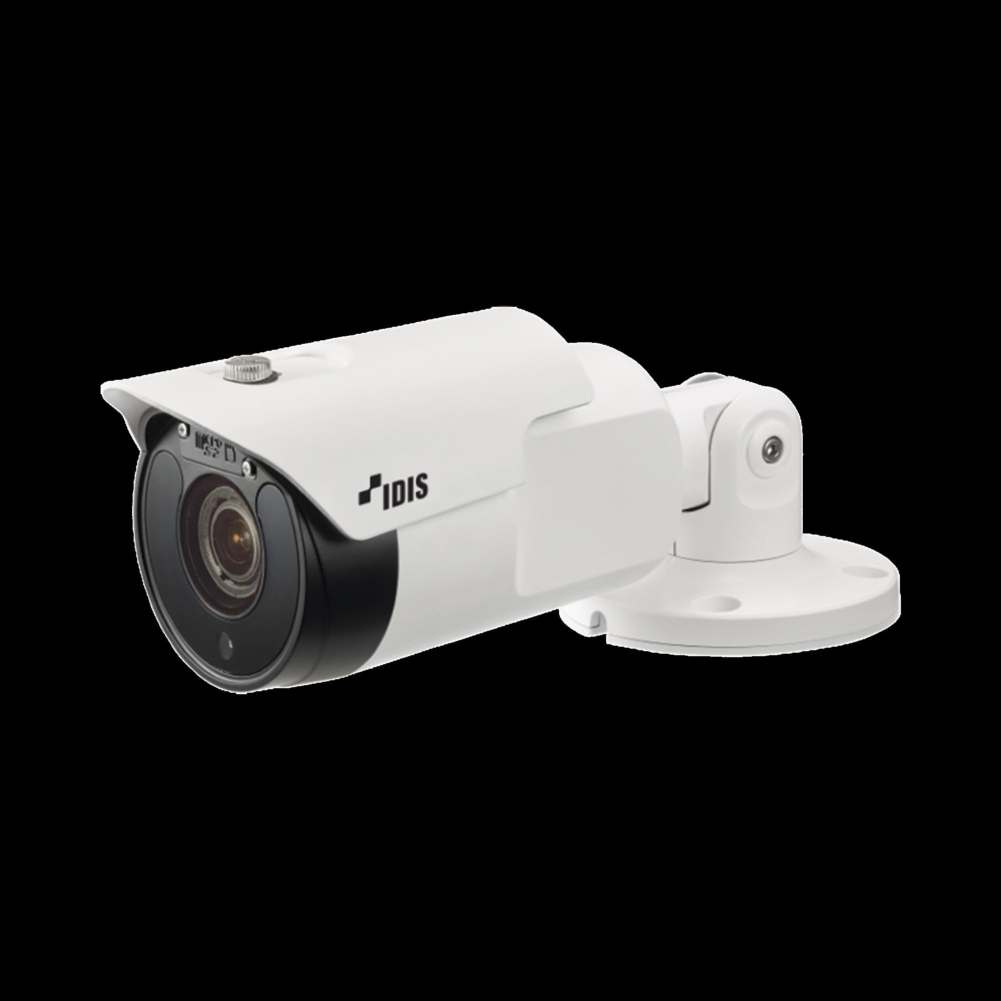 Camara IP Bala con Calefactor   5MP (H265)   Lente Varifocal MOTORIZADO 3-13mm   IK10/IP67    IR 30m   Entrada/Salida de Audio y Alarma   POE