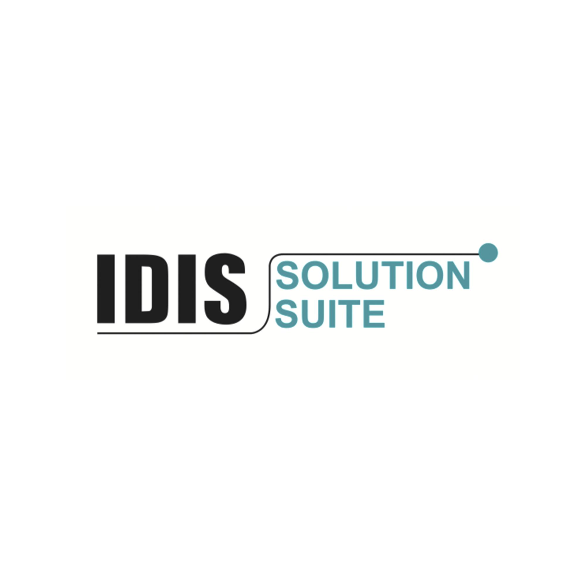 Licencia base video muro IDIS Solution Suite [Requiere ISSEXPIDI1CH]