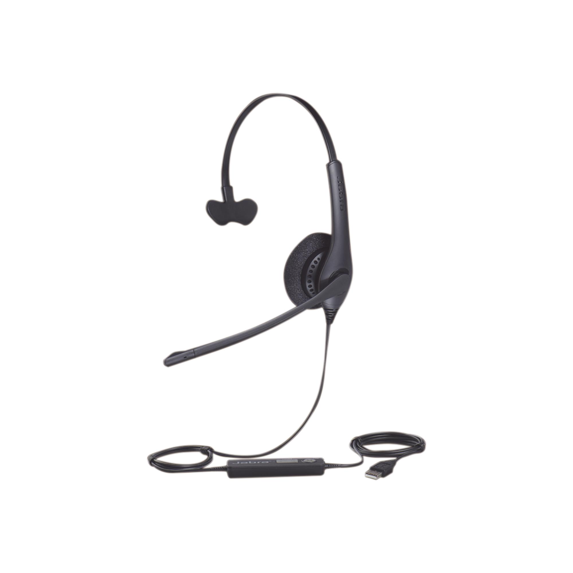 Jabra Biz 1500 Mono, auricular profesional con cancelación de ruido, con conexión USB (1553-0159)