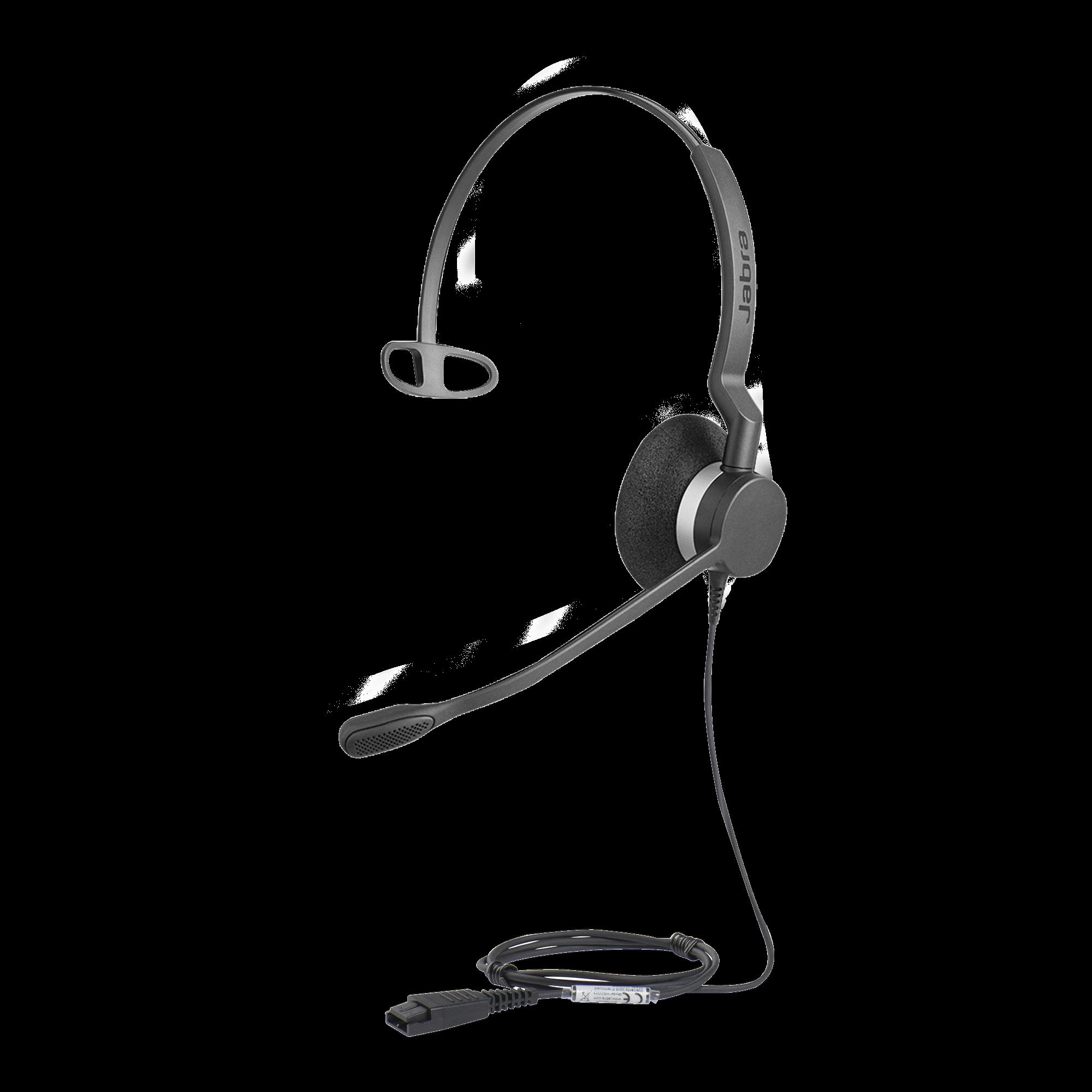Jabra Biz 2300 Mono con conexión QD, resistente para contact center con brazo articulado con giro de 360?  (2303-820-105)