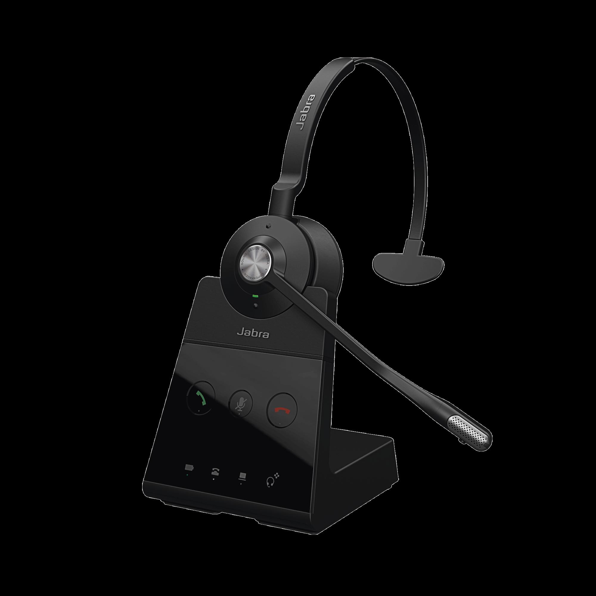 Engage 65 mono con conexion DECT y USB, ideal para entornos con necesidad de seguridad o de mucha densidad  (9553-553-125)
