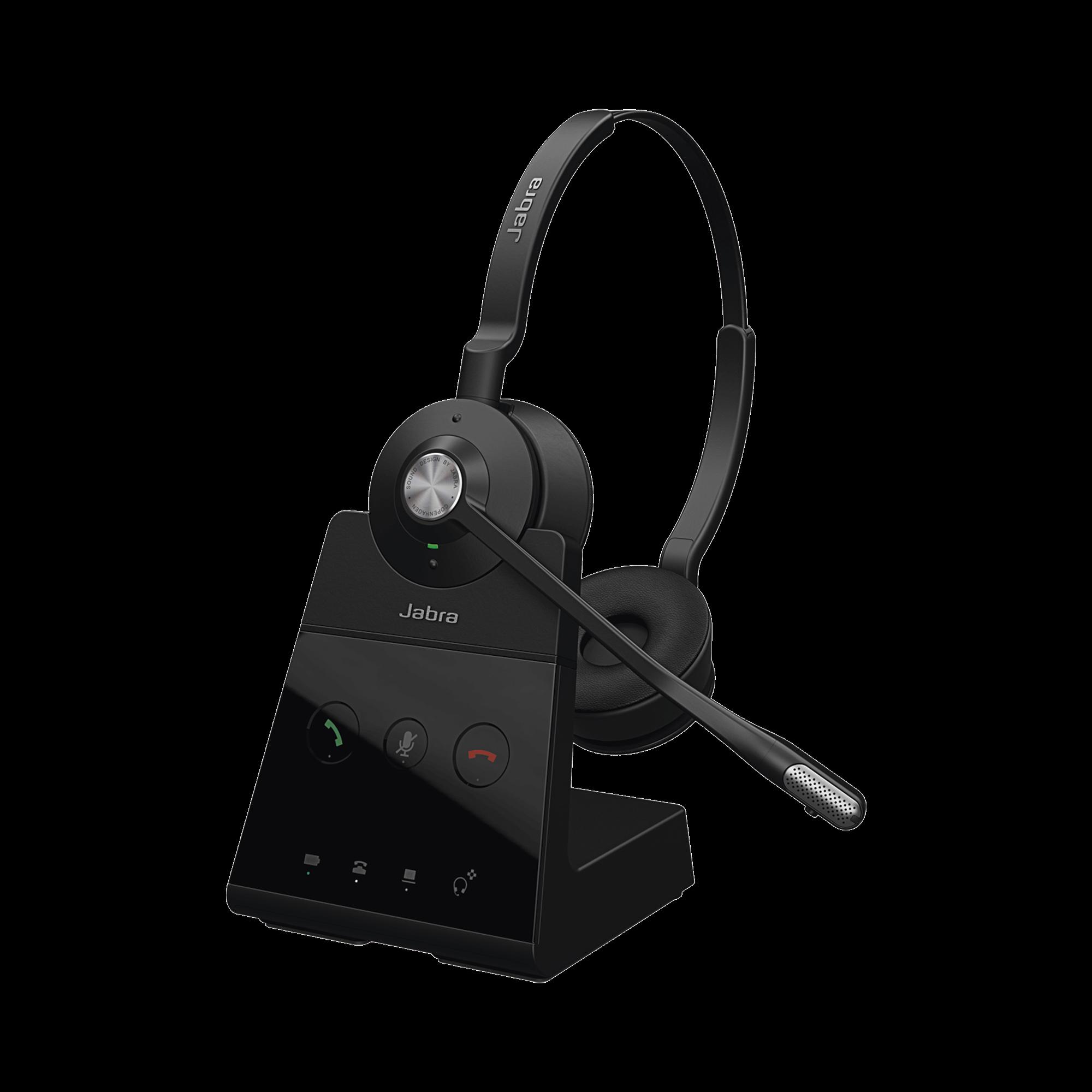 Engage 65 stereo con conexión DECT y USB, ideal para entornos con necesidad de seguridad o de mucha densidad (9559-553-125)
