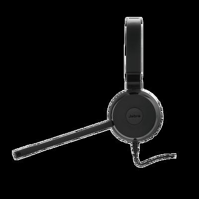 Jabra Evolve 20SE STEREO con conexión USB, micrófono con cancelación de ruido de última generación, configuración Plug and Play, Certificación Microsoft Teams (4993-823-109)