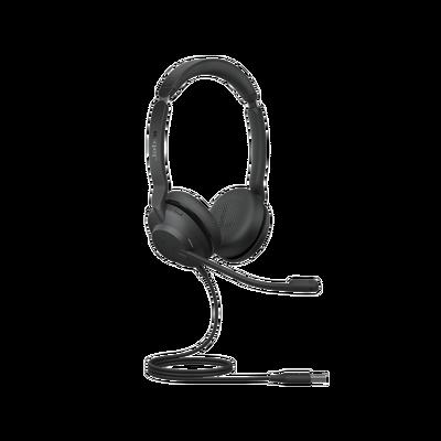 Jabra Evolve2 30, Auricular stereo versión UC con aislamiento de ruido, indicador de ocupado (Busylight) (23089-989-979)