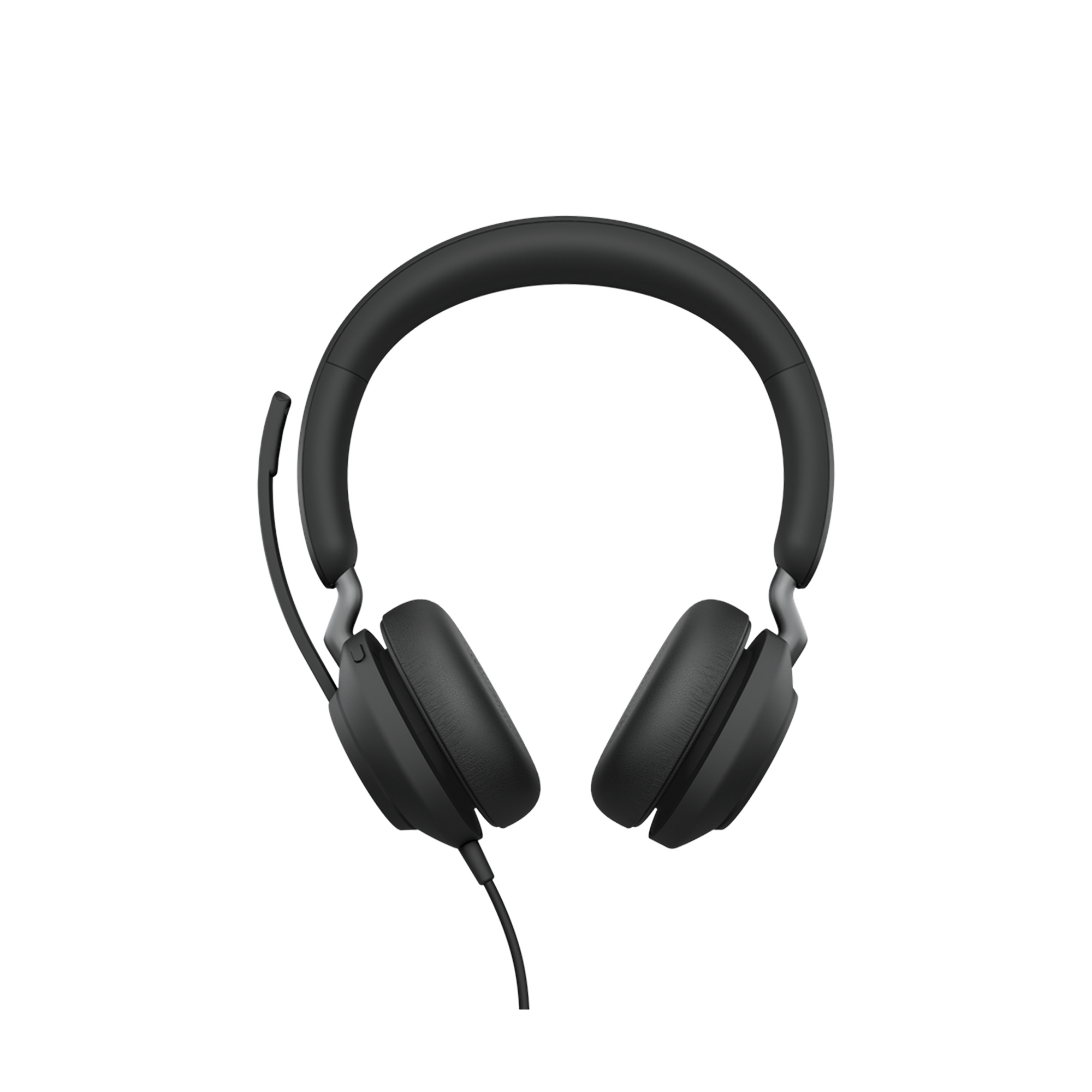 Jabra Jabra Evolve 2 40, Auricular stereo version UC con aislamiento de ruido, conexion USB-A y indicador de ocupado (Busylight) (24089-989-999)
