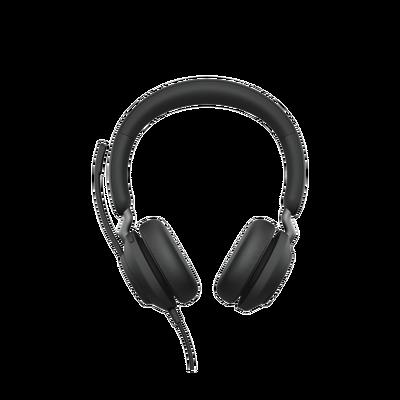 Jabra Jabra Evolve 2 40, Auricular stereo versión UC con aislamiento de ruido, conexión USB-A y indicador de ocupado (Busylight) (24089-989-999)