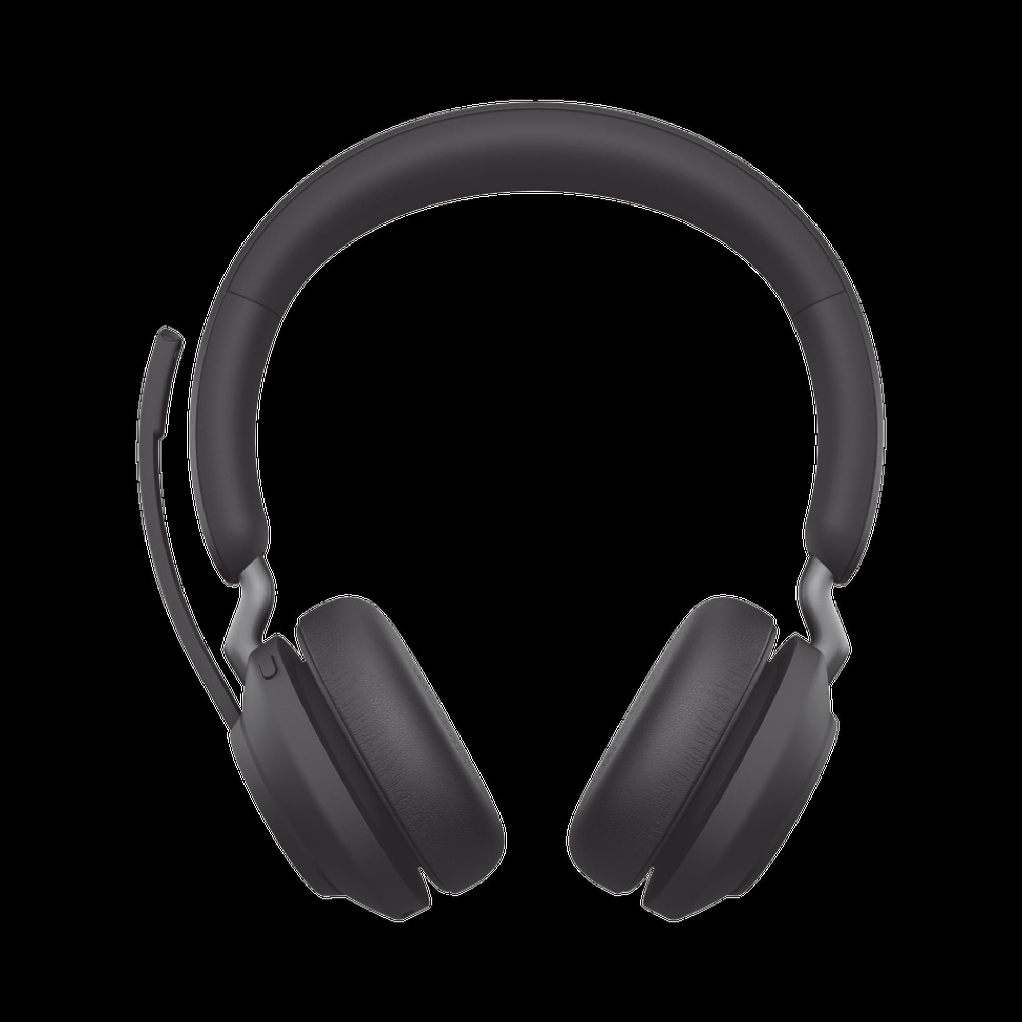 Jabra Evolve2 65, Auricular stereo versión UC con aislamiento de ruido activa, dongle USB-A indicador de ocupado (Busylight) (26599-989-999)