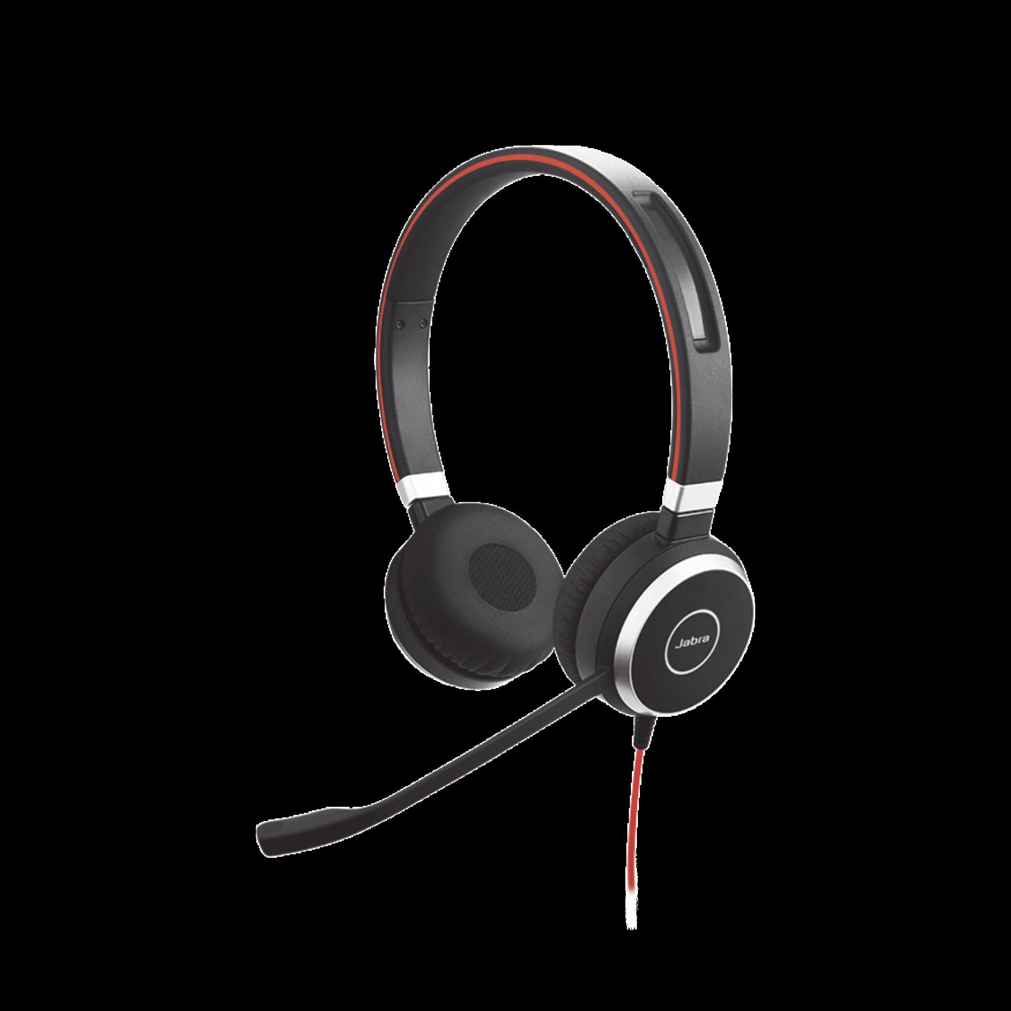 Jabra Evolve 40 Duo con Conexion USB / 3.5 mm, indicador de ocupado y cancelacion de ruido pasiva (6399-823-109)
