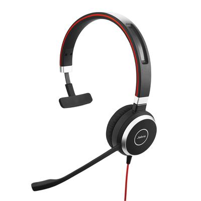 Jabra Evolve 40 Mono con conexión USB / 3.5 mm indicador de ocupado y cancelación de ruido (6393-823-109)