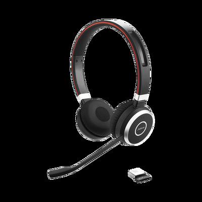 Evolve 65 Stereo, auricular profesional con gran calidad para llamadas y música (6599-823-309).
