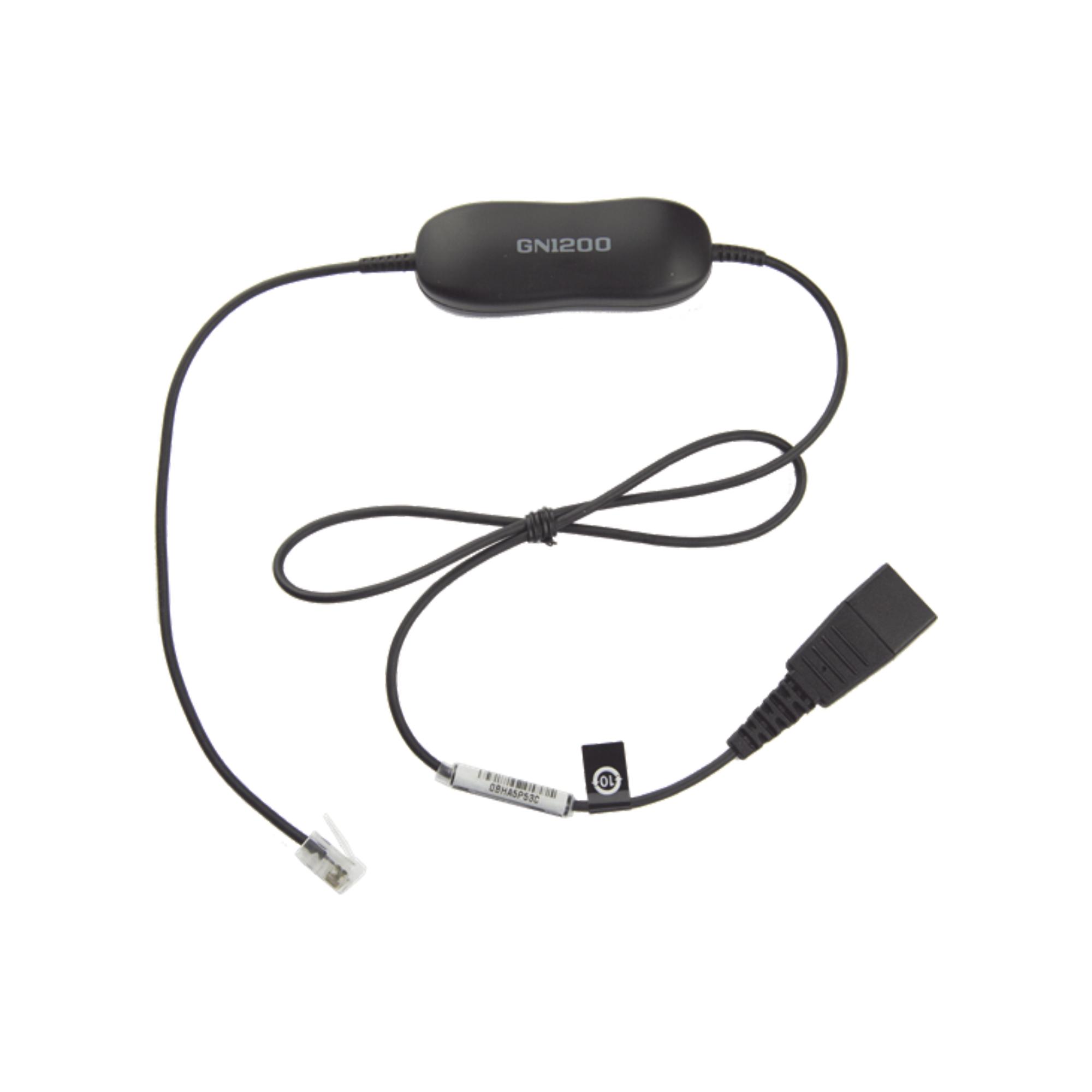 Jabra GN1200 cable con conexion QD y RJ-9 (88001-99)