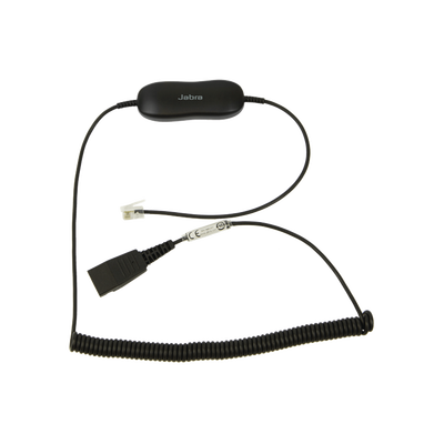 GN1216 cable enroscado para telefonos AVAYA 96xx/16xx QD a RJ-9 (88001-04)