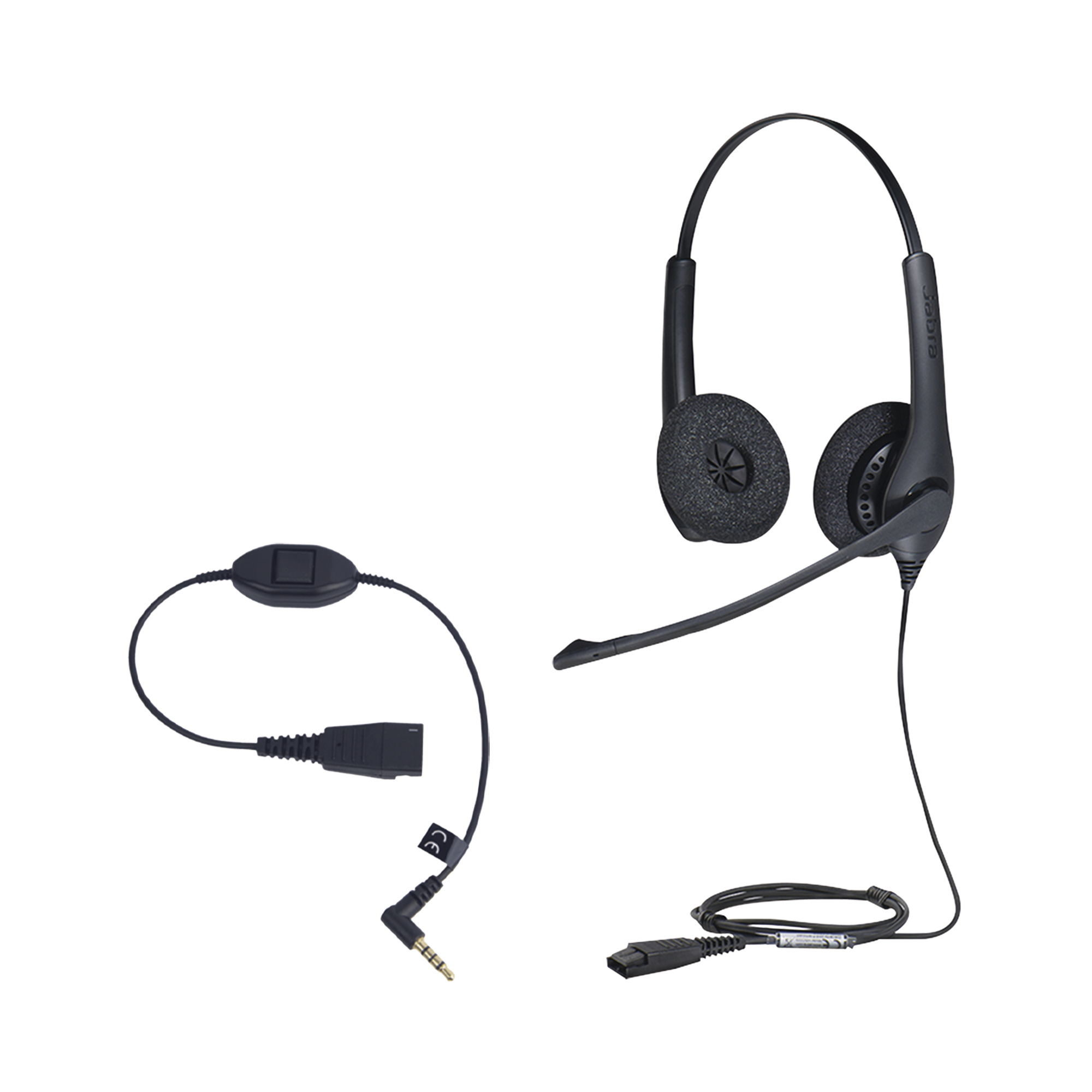 KIT, Diadema con cancelacion de ruido, con accesorio para conexiones 3.5mm Incluye modelos BIZ-1500-DUO-QD y MOBILE-QD-35MM-S?