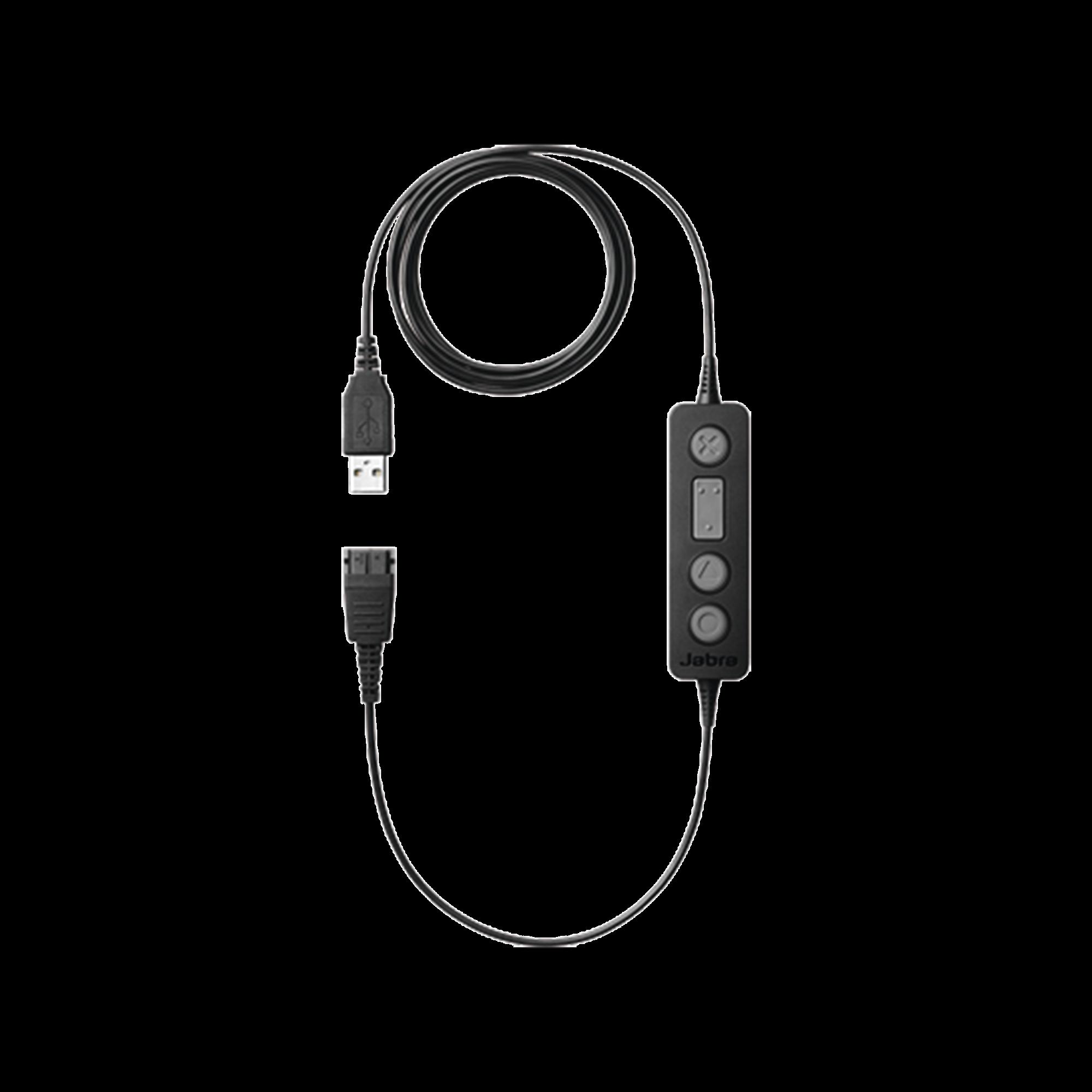 Jabra Link 260 adaptador con control USB a QD  (260-09)