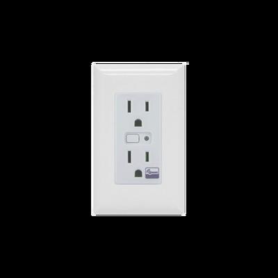 Tomacorriente con señal inalambrica Z-WAVE, compatible con HUB HC7, puede ser un panel de alarma L5210, L7000 con Total Connect