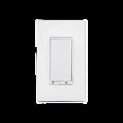 Interruptor On/Off iluminación con señal inalámbrica Z-WAVE, requiere agregarse a un HUB HC7, panel de alarma L5210, L7000 con Total Connect.
