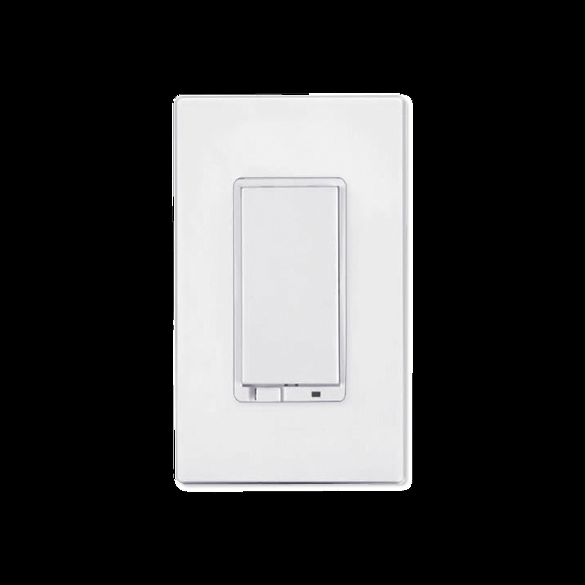Atenuador iluminación con señal inalámbrica Z-WAVE, requiere agregarse a un HUB HC7, panel de alarma L5210, L7000 con Total Connect.