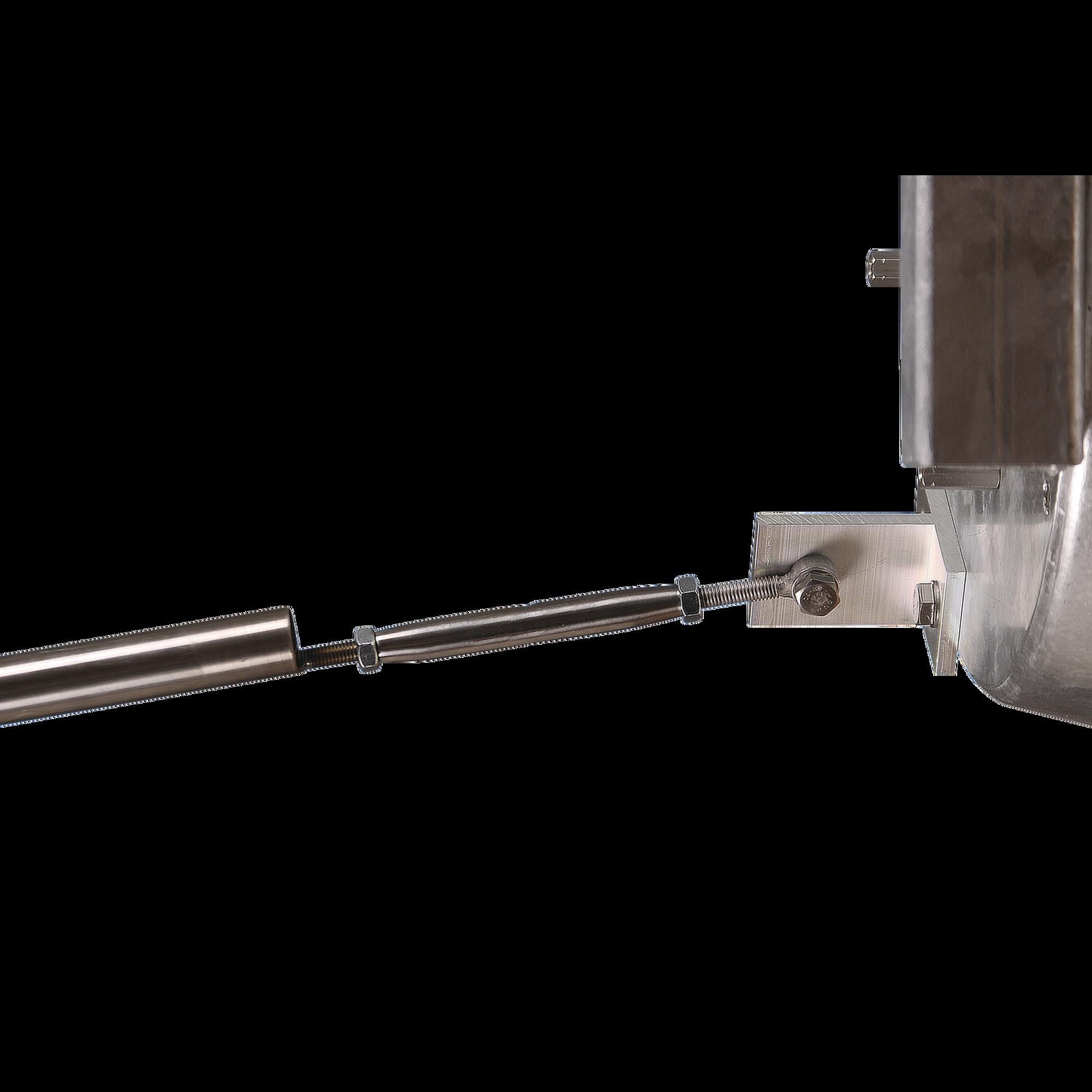 Montaje ajustable para mayor estabilidad y alineación de antenas JRMA01200 y JRCDD35DUPLEX