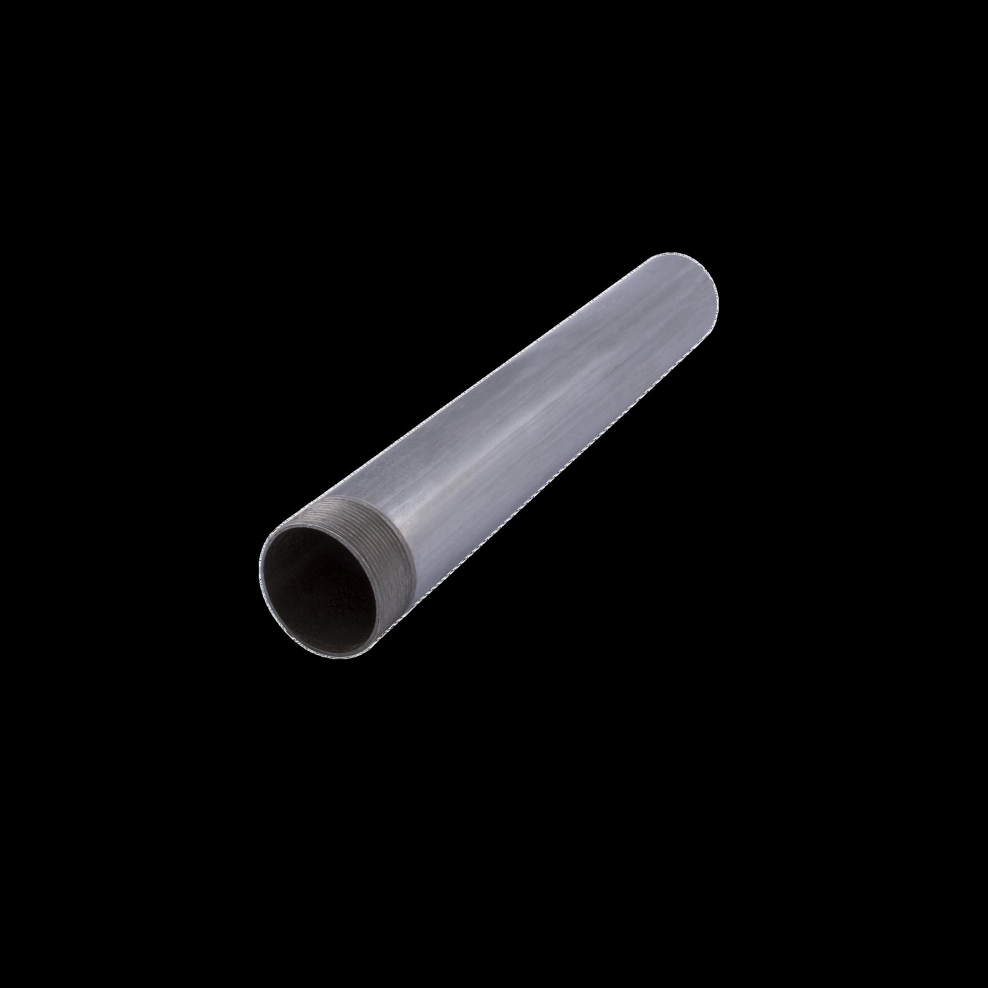 Tubo conduit 1/2 Pared Gruesa (13mm) x 3 metros , galvanizado, etiqueta amarilla, calibre 16 (Incluye 1 cople).