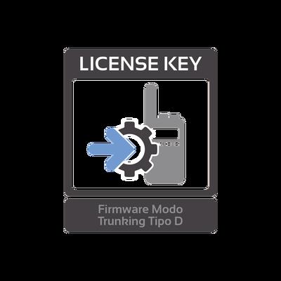 Firmware de actualización para función troncal tipo D para radios NX-220/320, NX-720/820