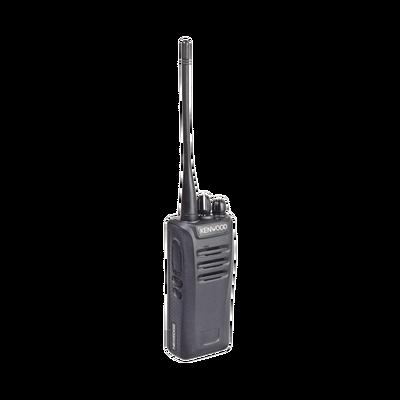 Intrínsecamente Seguro, 136-174 MHz, NXDN/Análogo, GPS, Encriptación, Roaming multi-sitio. Incluye Batería, Antena, cargador y clip