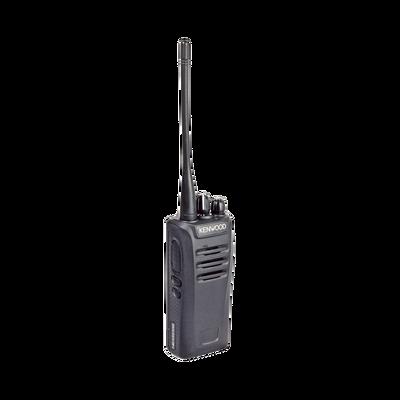 Intrínsecamente Seguro, 450-520 MHz, NXDN/Análogo, GPS, Encriptación, Roaming multi-sitio. Incluye Batería, Antena, cargador y clip