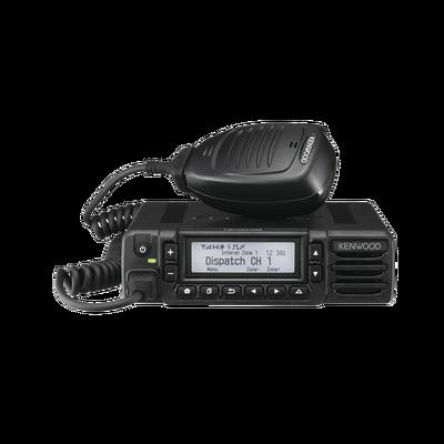 806-870 MHz, 512 Canales, 15 W, NXDN-DMR-Análogo, GPS, Bluetooth, Cancelación de ruido. Incluye accesorios