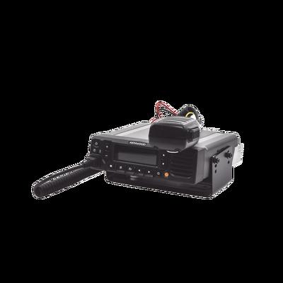450-520 MHz, NXDN-P25-DMR-Analógico, 45 W, Bluetooth, GPS, MicroSD, 1024 Canales, Incluye Accesorios