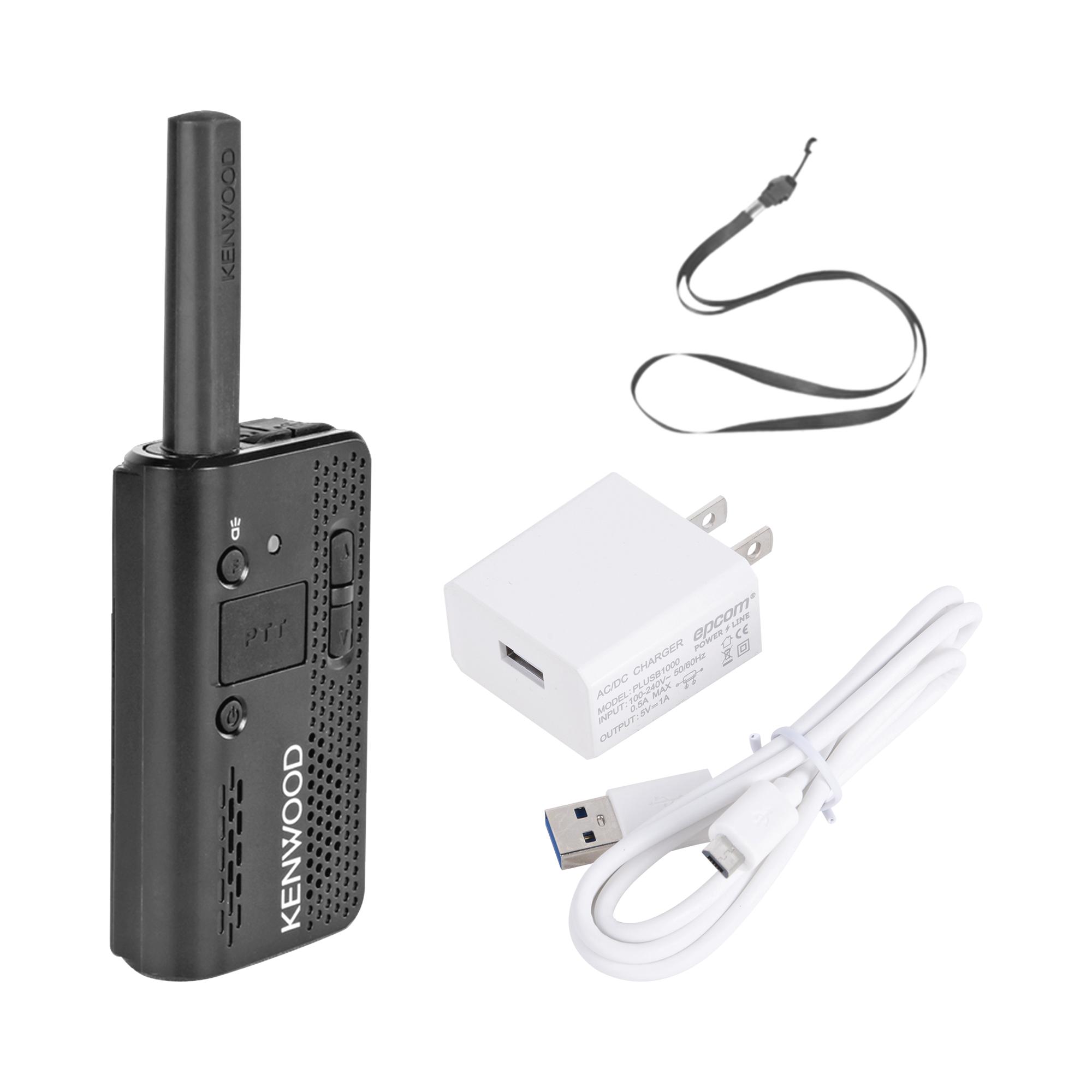 440-480 MHz, 1.5 W, 4 canales, Linterna, MIL-STD-810, IP54. Incluye Antena/Batería/Cargador/Banda