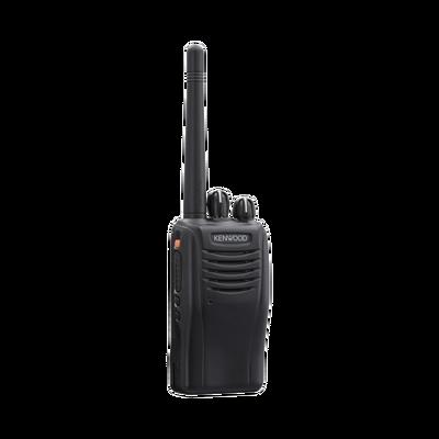 136-174 MHz, Intr. Seguro, 5 W, Hombre Caído, GPS, Botón de Pánico, Incluye antena, batería, cargador y clip.