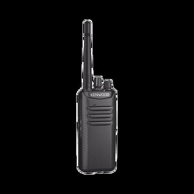 Intrínsecamente Seguro, 400-470 MHz, DMR/Análogo, Encriptación, Roaming multi-sitio. Incluye Batería, Antena, cargador y clip