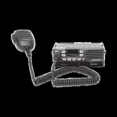 Radio Movil Digital 400-470 MHz, 32 Canales, Modo Mezclado DMR/Análogo, 50 W, Encriptación, GPS. Incluye accesorios