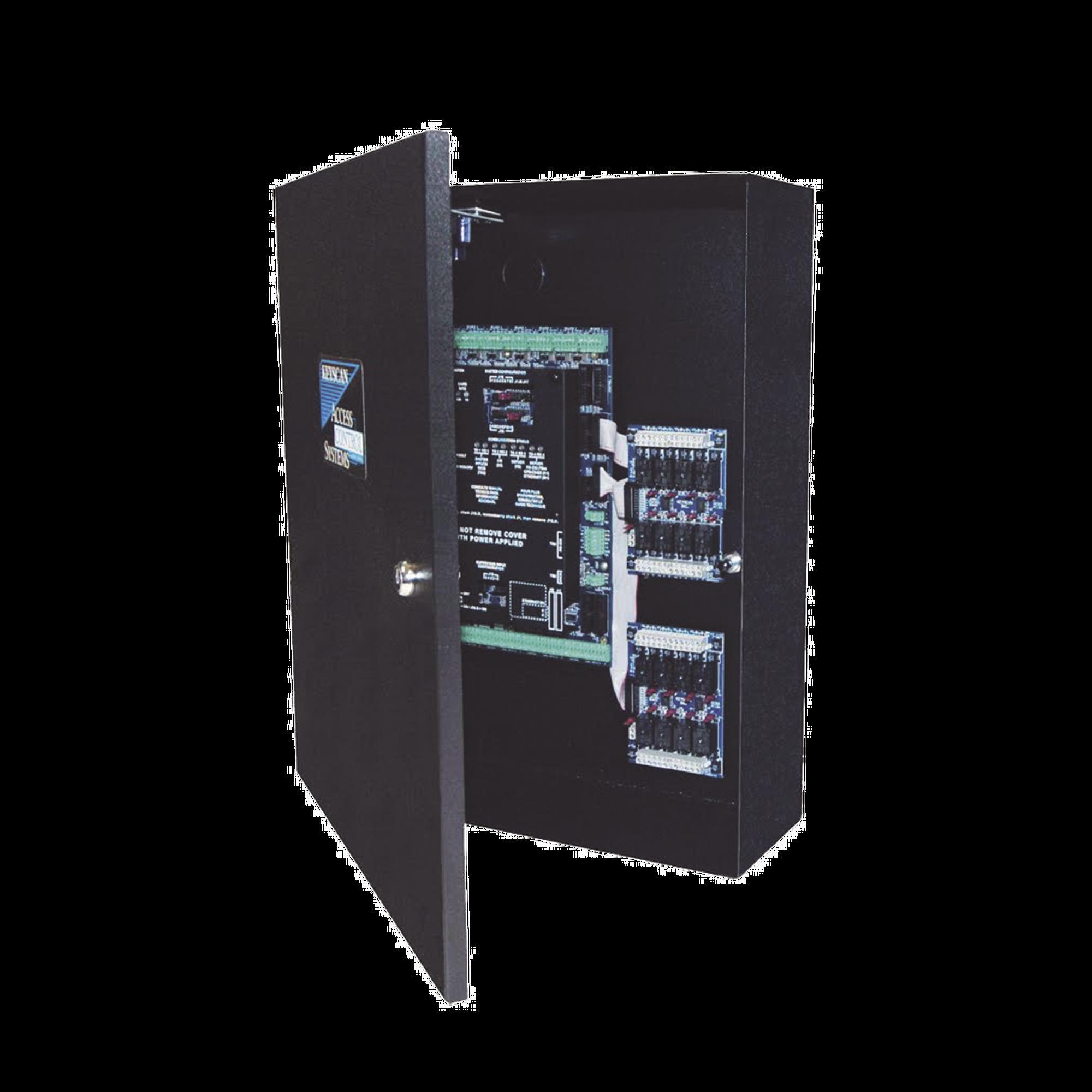 Controlador de Acceso / 4 Lectoras / Doble Procesador / +50 Formatos de Tarjetas Compatibles / 45,000 Tarjetas