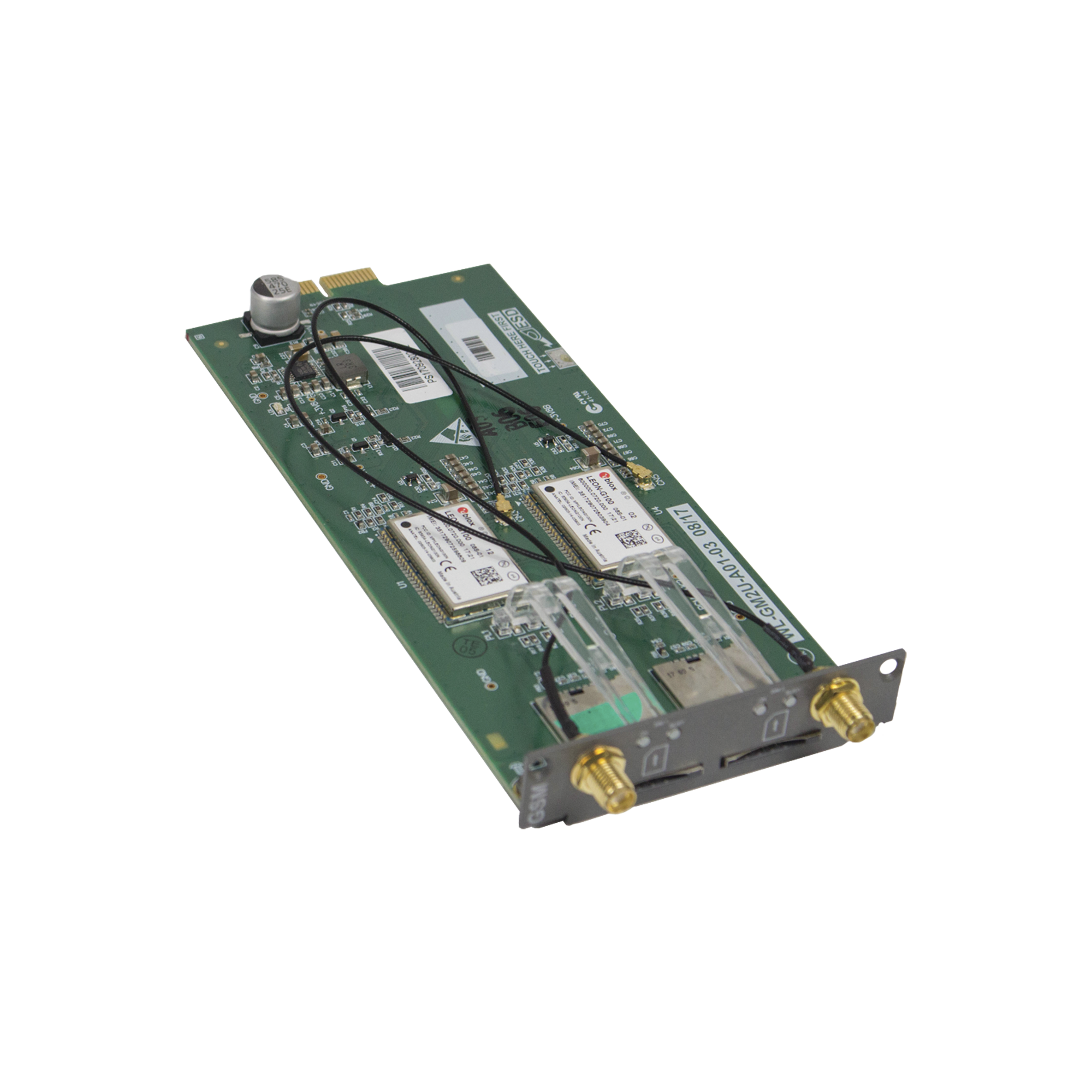 Modulo con 1 canal GSM 3G para UMGSERVER300DY y UMGMODULAR300