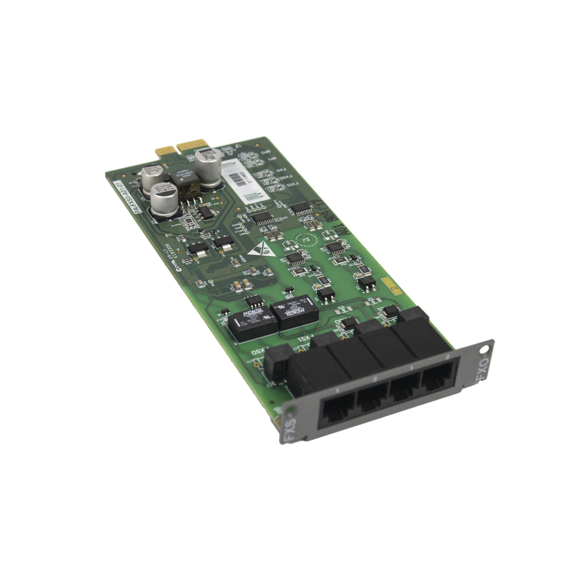 Módulo con 2 canales FXO, 2 canales FXS para UMGSERVER300DY y UMGMODULAR300