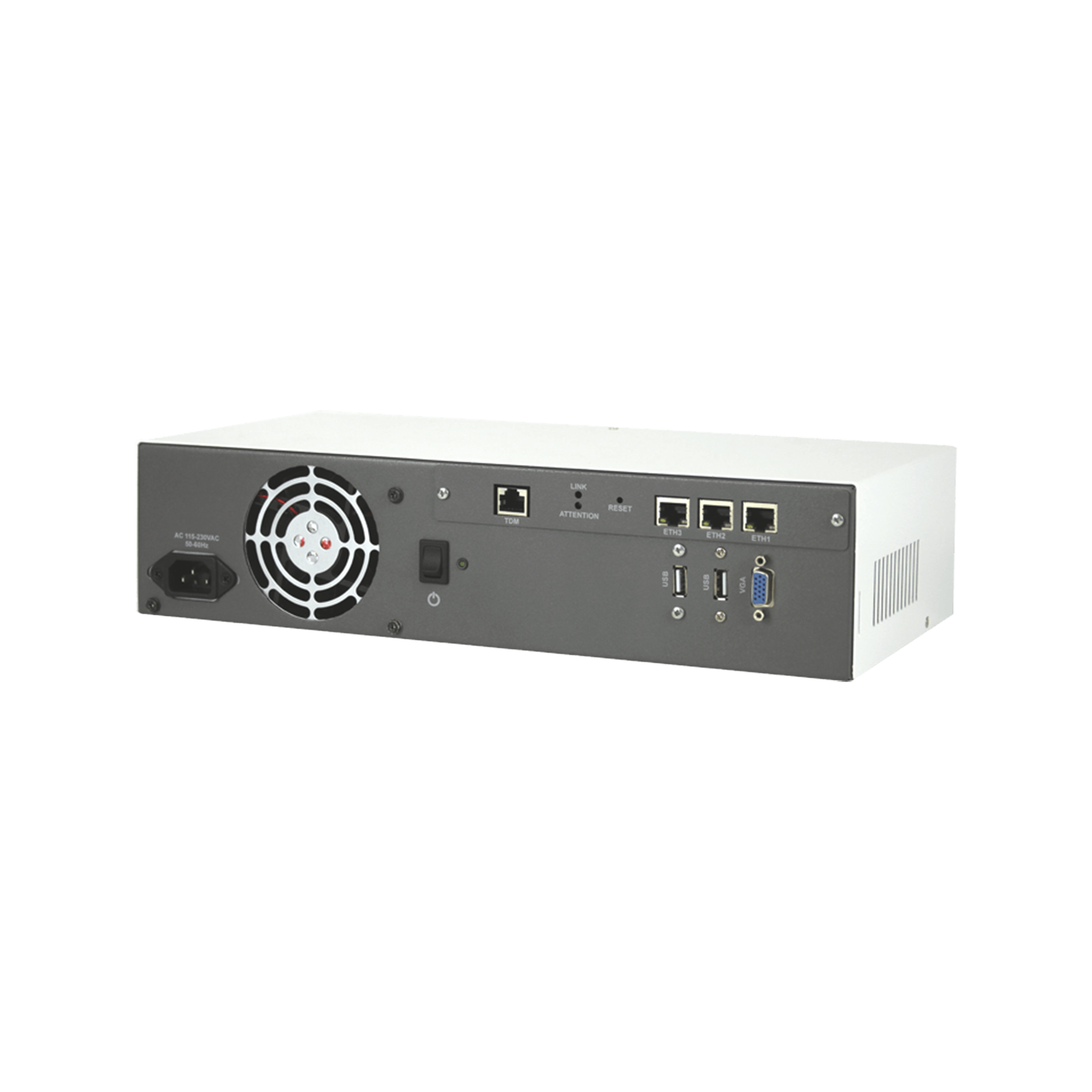 Servidor para IP-PBX integrado con 1 E1/T1, 30 canales VoIP, ideal para instalar 3CX