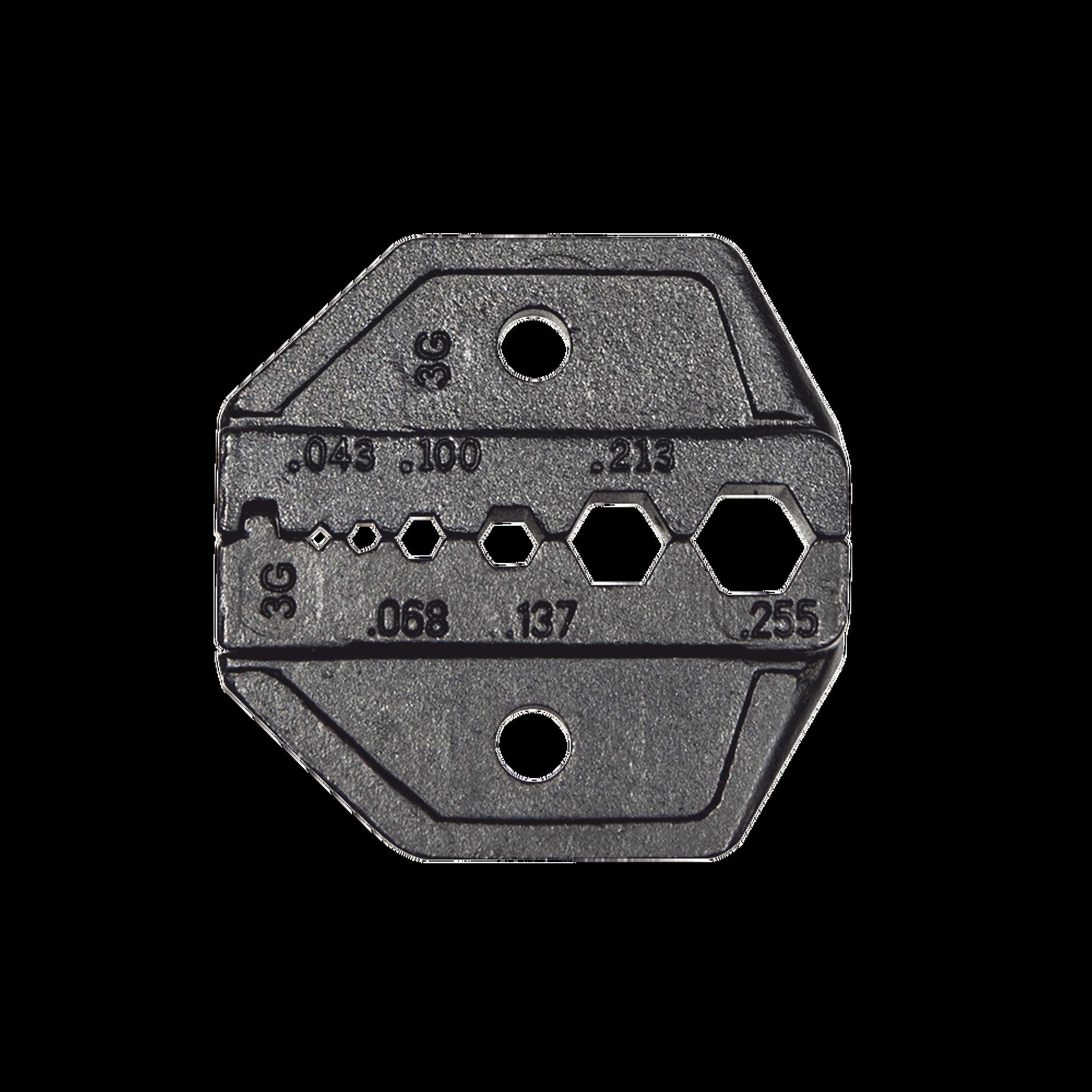 Matriz Ponchadora para RG58, RG59, RG62 y  RG174.
