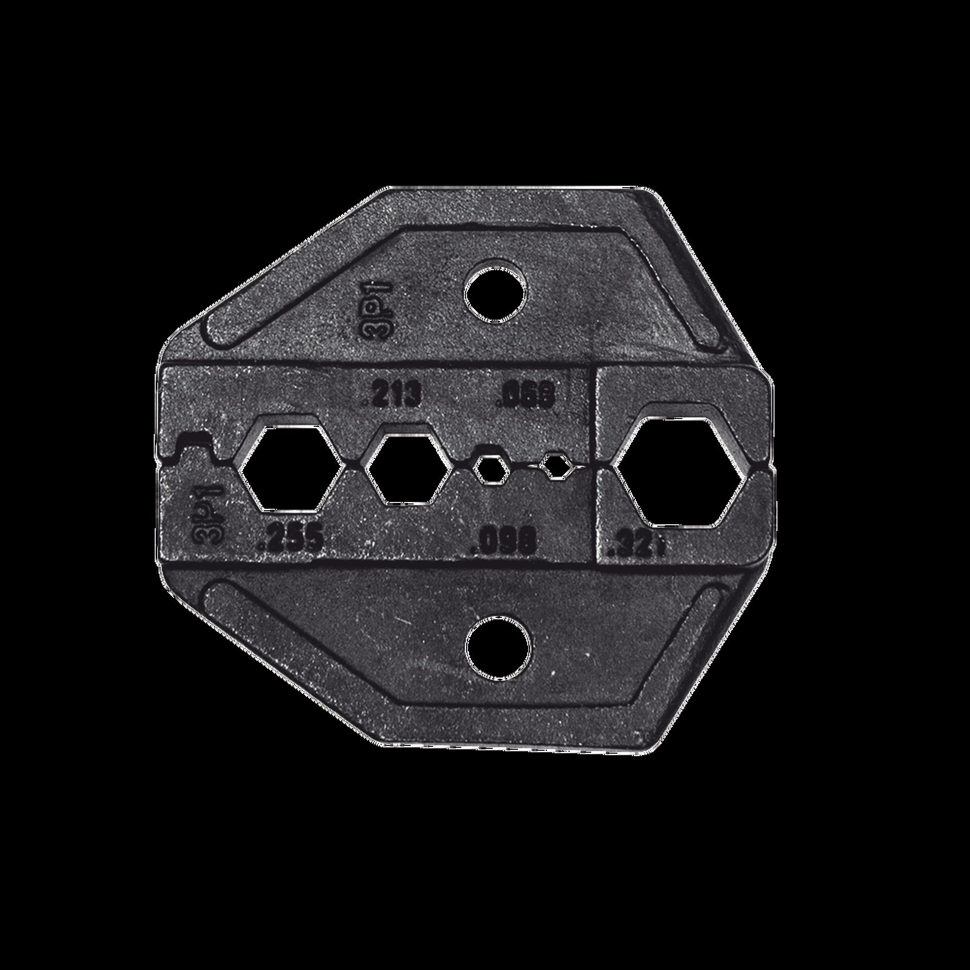 Matriz Ponchadora parara Cable Coaxial RG58, RG59, RG6 y RG62.