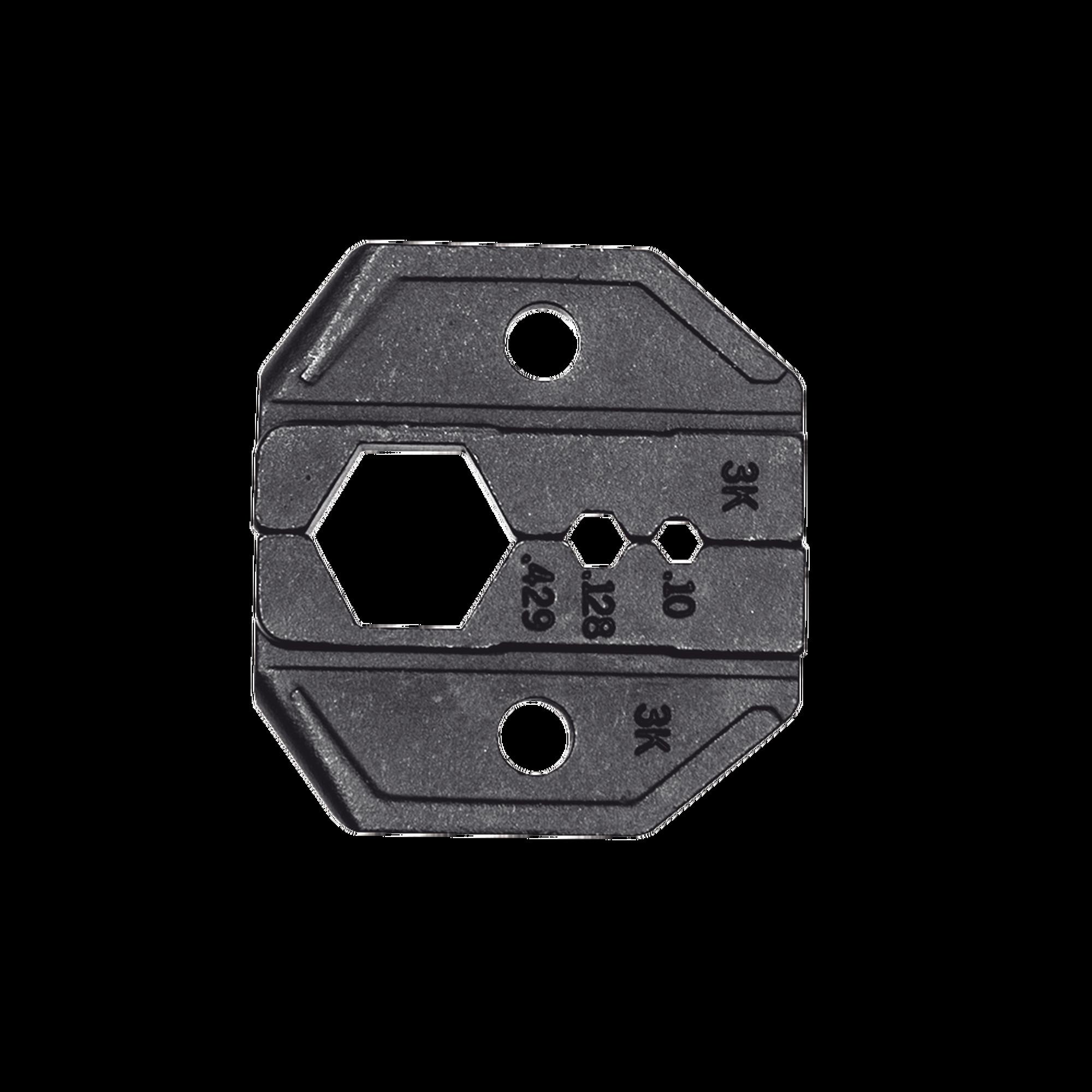 Matriz Ponchadora para Cable coaxial RG8, RG11, RG174, RG179 y RG213.