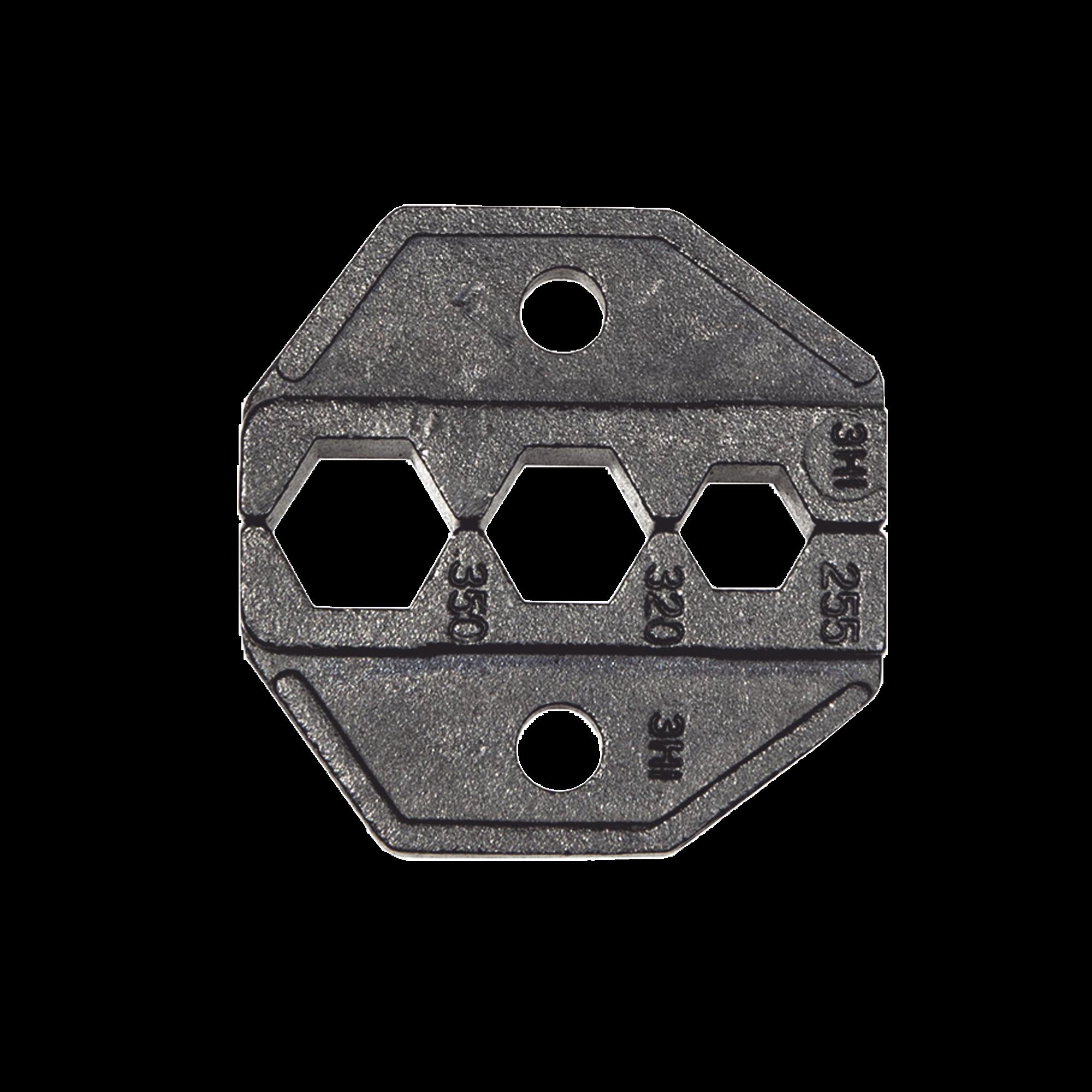 Matriz Ponchadora para Conectores F de Cables Coaxiales RG59 y RG6.