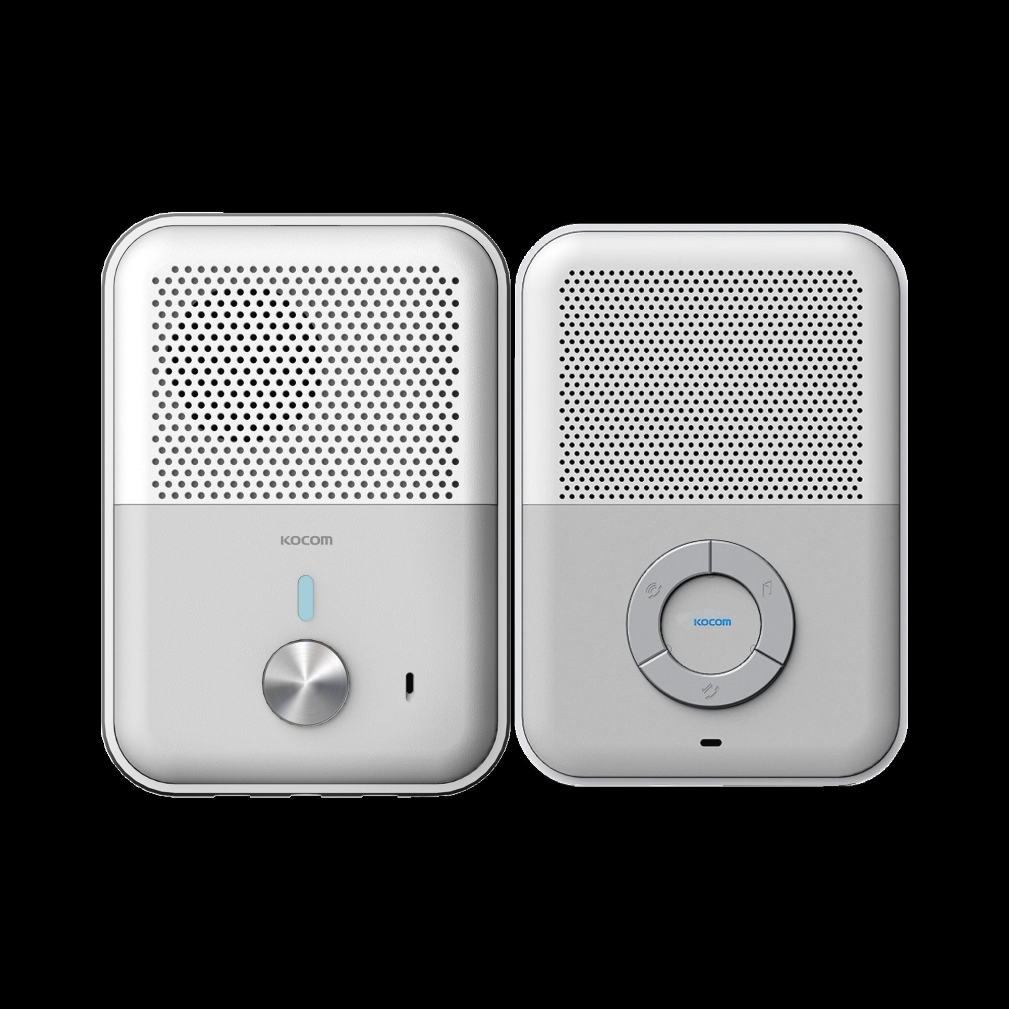Kit de Audio Portero con Auricular Manos Libres y Frente de Calle Nuevo Diseño