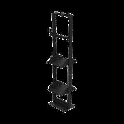 """Kit de Rack Estándar 19"""", 45 UR con 2 Charolas  y PDU (8 tomas). Ideal para UPS y Servidores tipo Torre."""